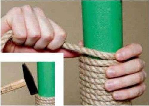 Как сделать когтеточку своими руками фото пошагово