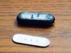 Снятие крышки MiBand