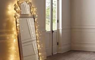 Волшебное зеркало из светодиодной гирлянды