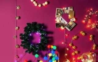Как сделать праздник при помощи нескольких гирлянд