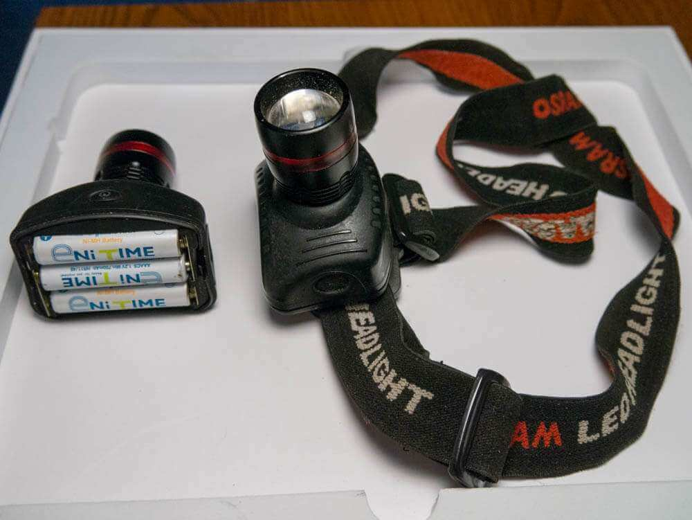 Налобный фонарь с регулировкой луча фото