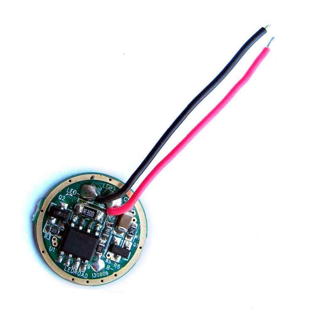 LED драйвер для фонаря