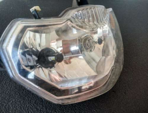 LED лампа H4/HS1 для мотоцикла с Алиэкспресс