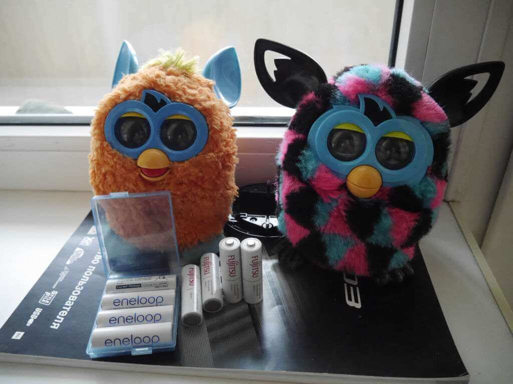 аккумуляторы для Furby
