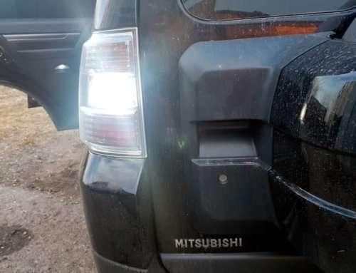 LED-лампы в Mitsubishi Pajero