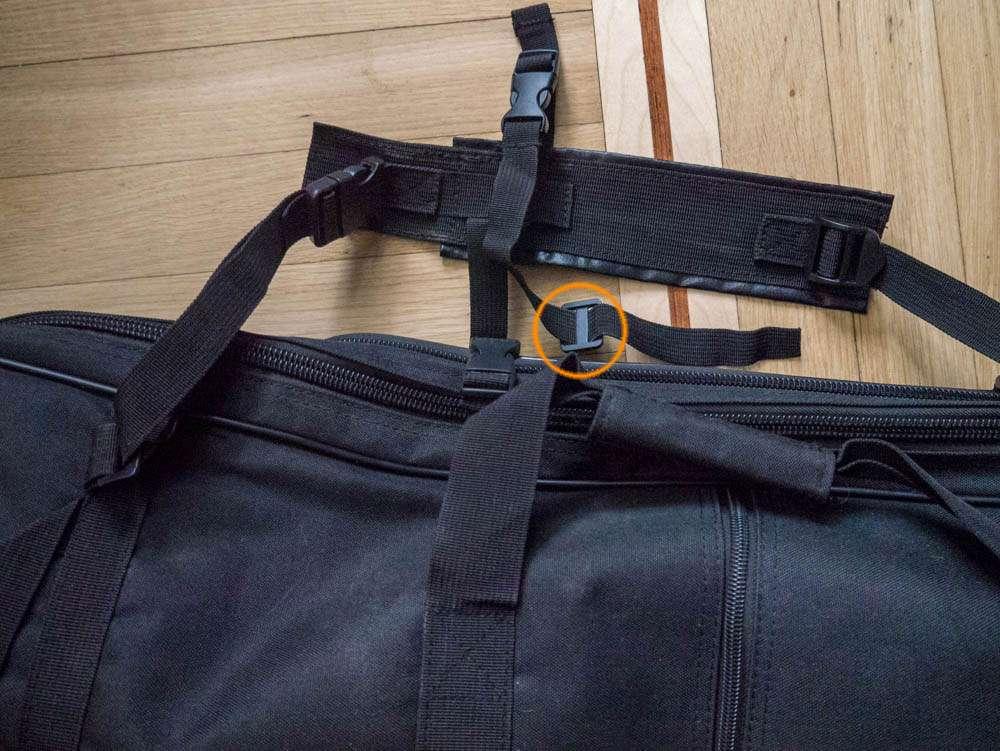 Рюкзак для металлодетектора лямки фото 2