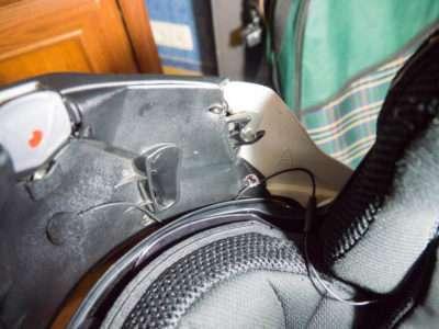 Установка микрофона в шлем модуляр