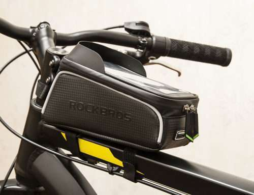 Обзор велосипедной сумки ROCKBROS 017 - 1BK
