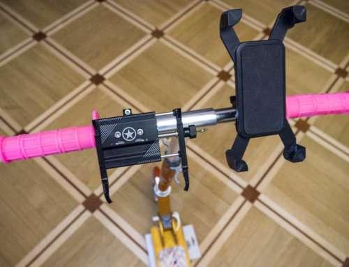 Выбор крепления для телефона на руль велосипеда/мотоцикла: пластик против металла