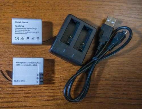 S009R аккумулятор 1200mAh для камер Hawkeye Firefly, тестирование реальной ёмкости