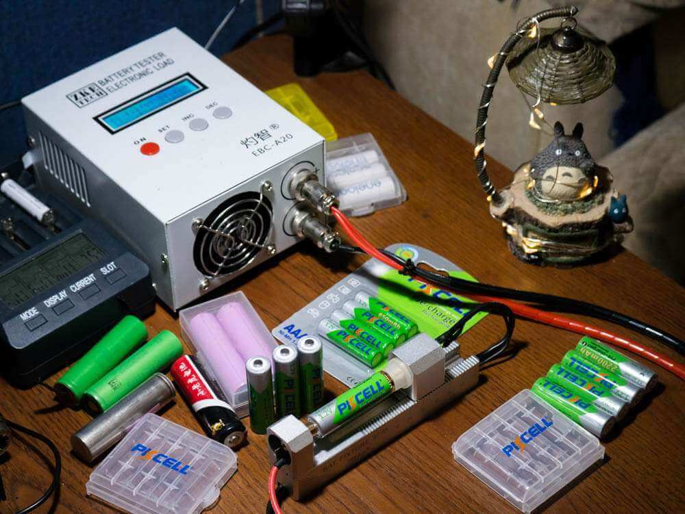 PKCell AA 2200 Ready to Use тестирование