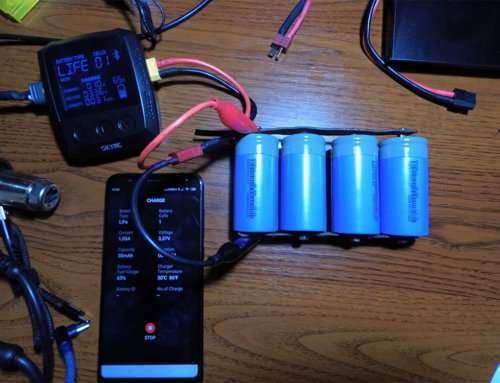 Аккумуляторы 32650 LiFePo4 5000 mAh из Китая, нагрузочное тестирование