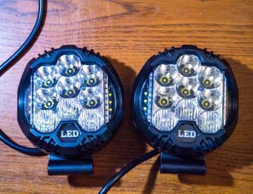 Светодиодные фары рабочего света на внедорожник, какие выбрать?
