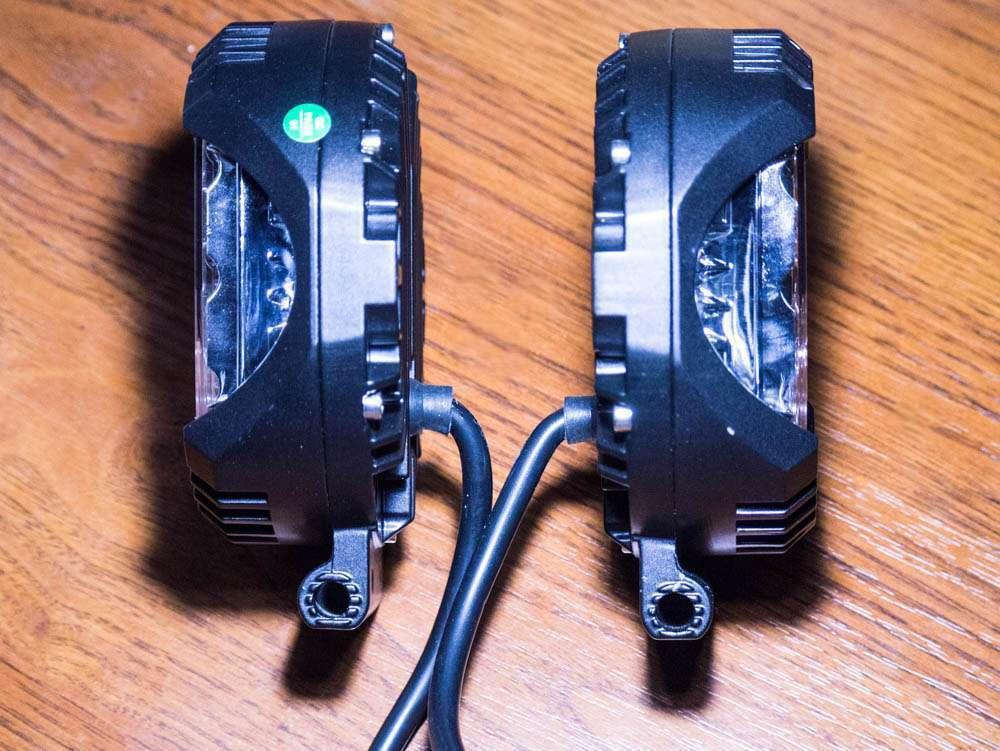 тонкая китайская фара LED