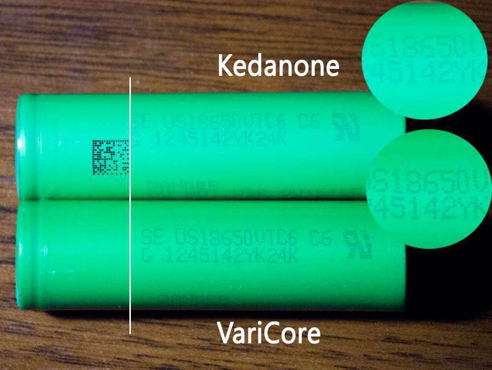 Kedanone и Varicore отличия