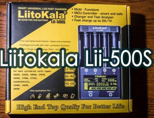 Liitokala Lii-500S: плюсы и минусы. Честный обзор.