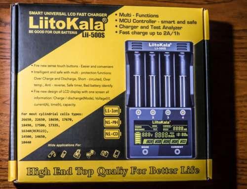 Liitokala Lii-500S: инструкция на русском языке