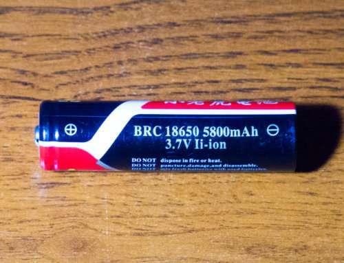 Bilong BRC 18650 5800mah UltraFire: реальная ёмкость