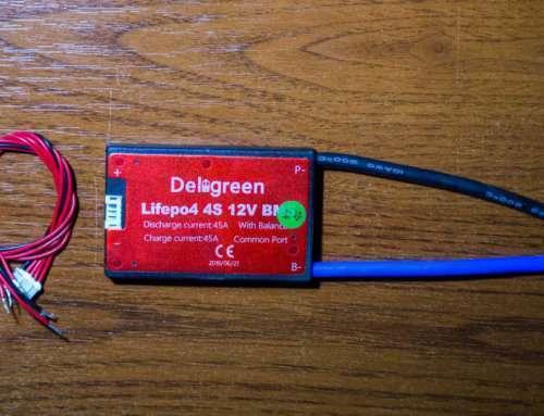 LiFePo4 BMS 4S 45A Deligreen: обзор и тестирование