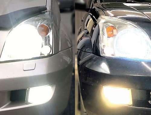 LED-лампы в Toyota Prado