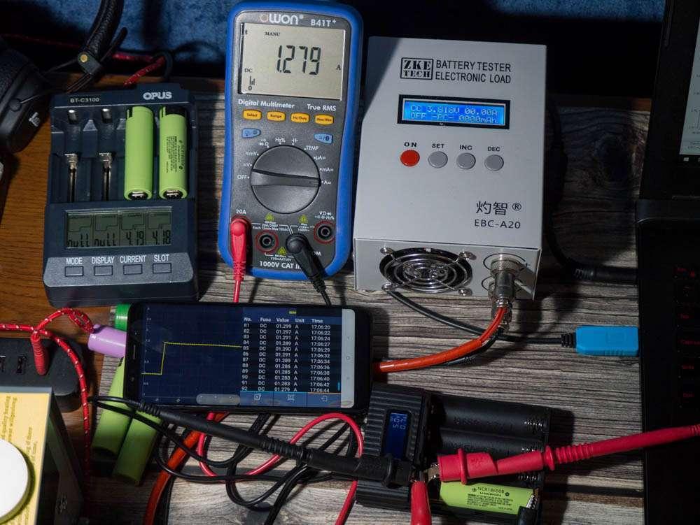 Powerbank ток заряда аккумуляторов