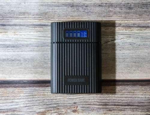 Зарядное устройство - power bank для 18650, портативная тревел-зарядка