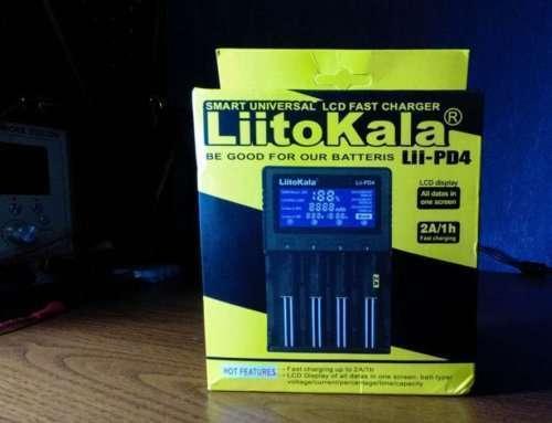 Liitokala Lii-PD4, тестируем бюджетное зарядное устройство