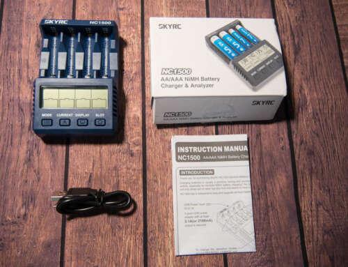 SkyRC NC1500: тестирование и обзор
